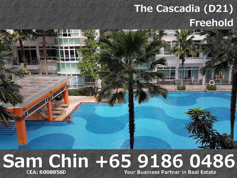 The Cascadia – S50 – 4 Bedroom – Living Area – View – Swimming Pool