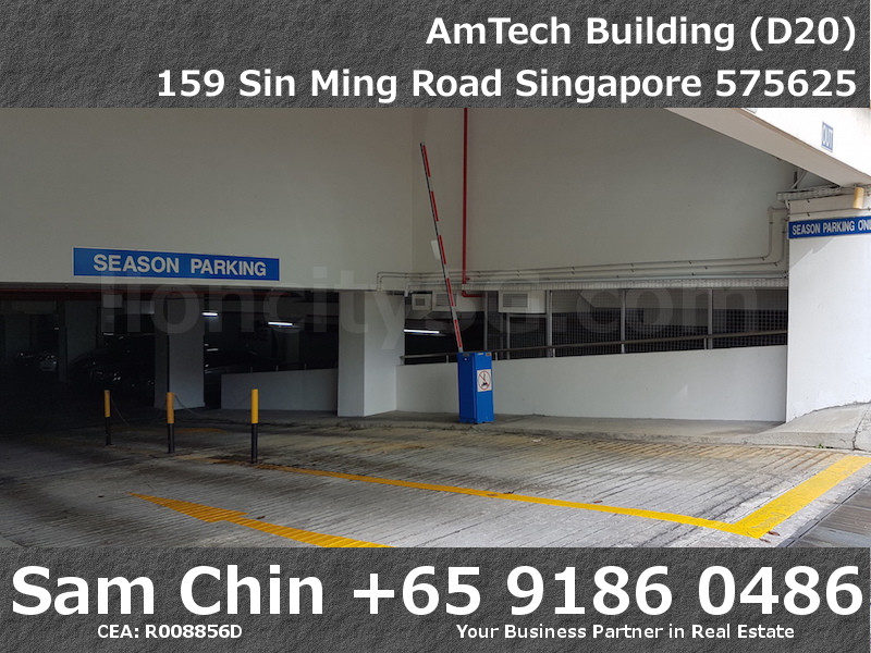 AMTech Building – Industrial – Basement Carpark Entrance