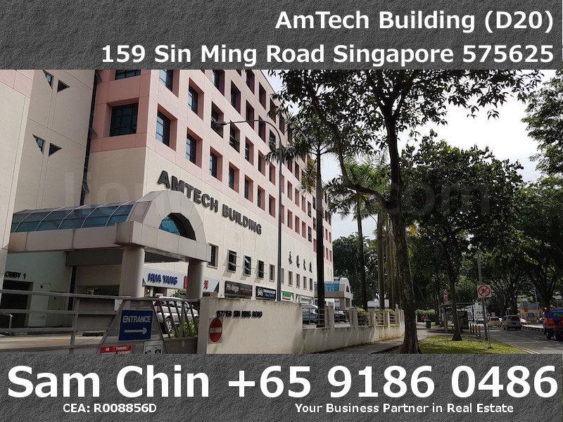 AMTech Building – Industrial – Facade – 1