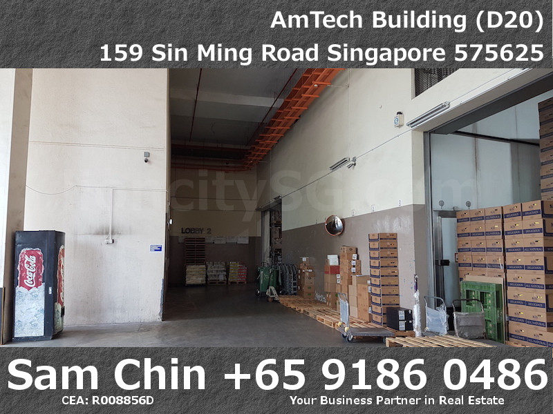 AMTech Building – Industrial – Loading Area