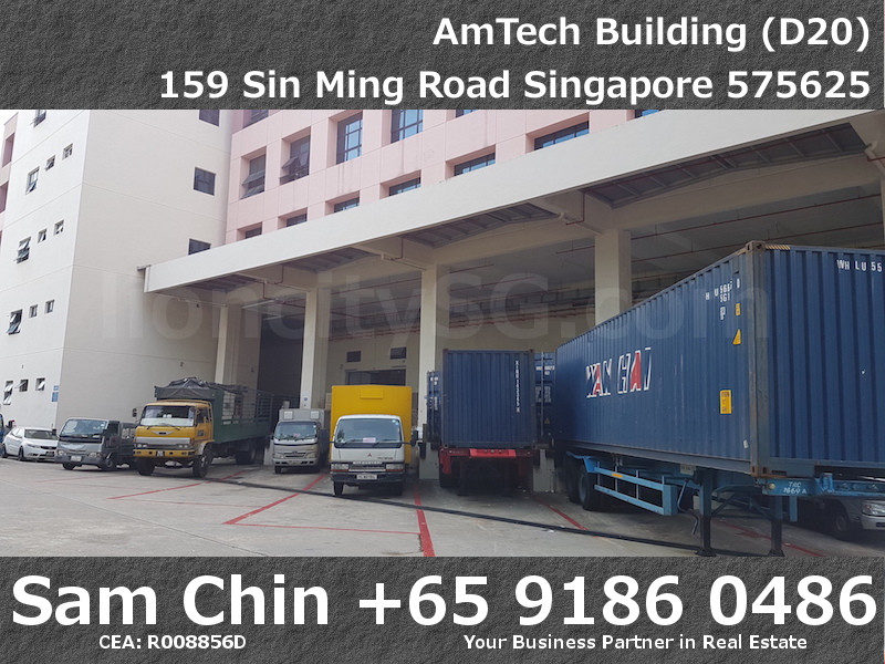 AMTech Building – Industrial – Loading Bay – 1