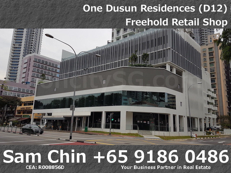 One Dusun Residence – Balestier – Freehold retail shop – 1