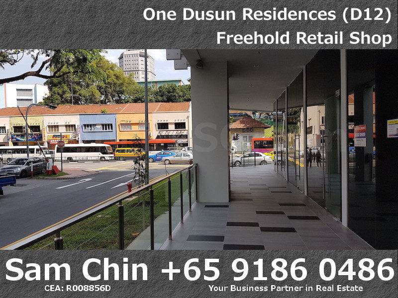 One Dusun Residence – Balestier – Freehold retail shop – 2