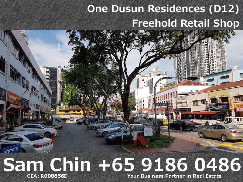 One Dusun Residence – Balestier – Freehold retail shop – 3