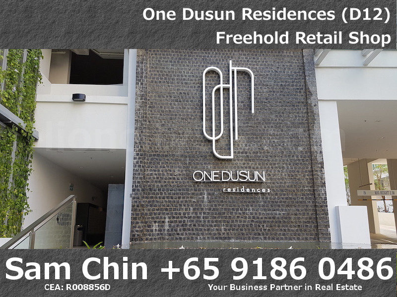 One Dusun Residence – Balestier – Freehold retail shop – 5