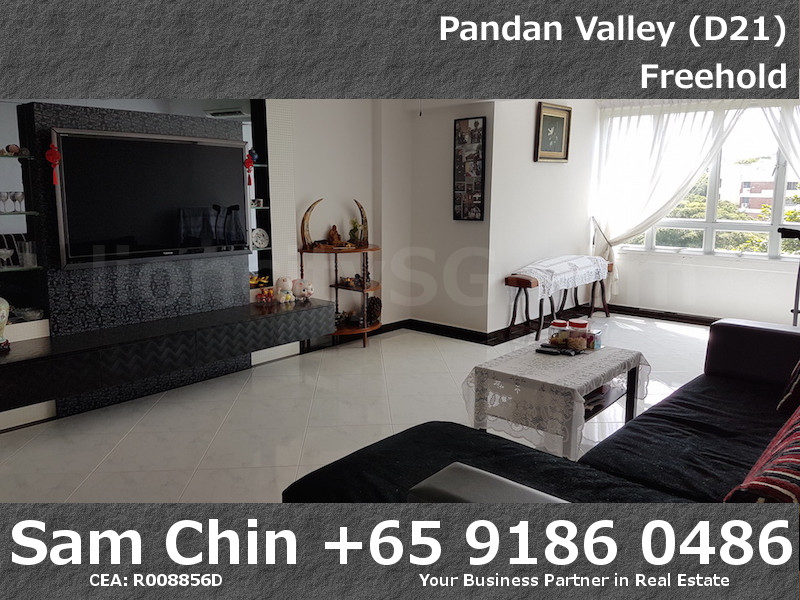Pandan Valley – 2+Study – Living Area – 1
