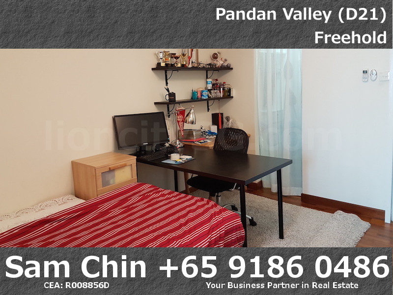 Pandan Valley – 2+Study – Master Bedroom – 2