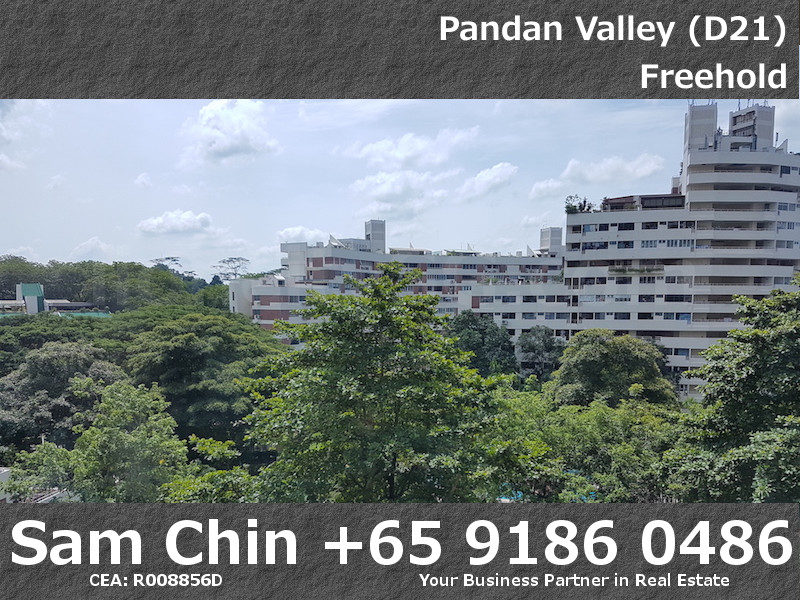 Pandan Valley – 2+Study – View – Living Area