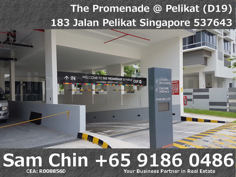 The Promenade at Pelikat – Retail Shop For Sale – Car Park Entrance – 1
