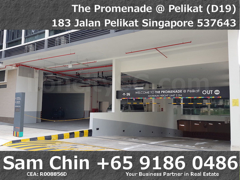 The Promenade at Pelikat – Retail Shop For Sale – Car Park Entrance – 2
