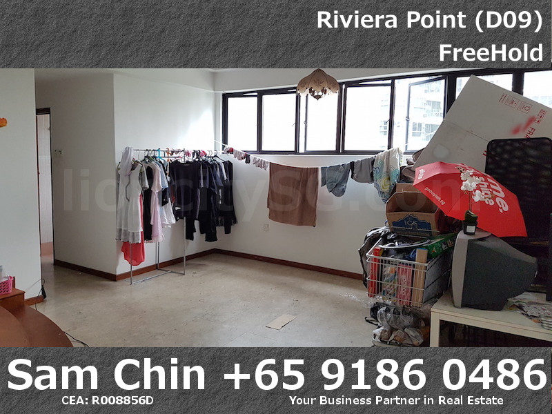 Riviera Point – 3 Bedroom – S3 – Living Area – 1