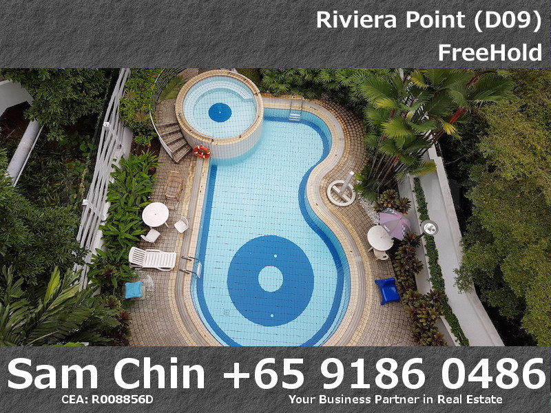 Riviera Point – 3 Bedroom – S3 – Master Bedroom – Pool View