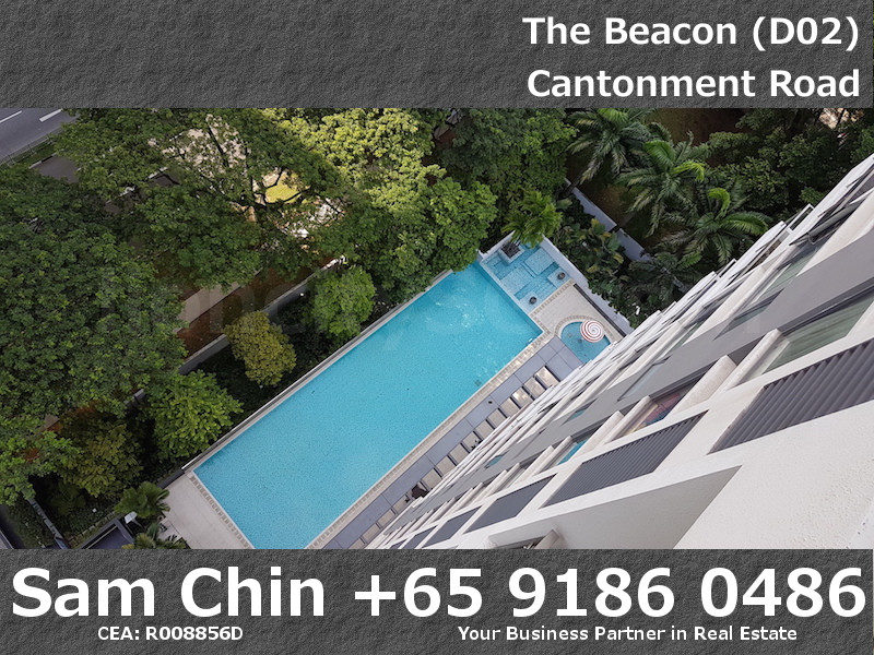 The Beacon – 2 Bedroom – Balcony – View – Lap Pool