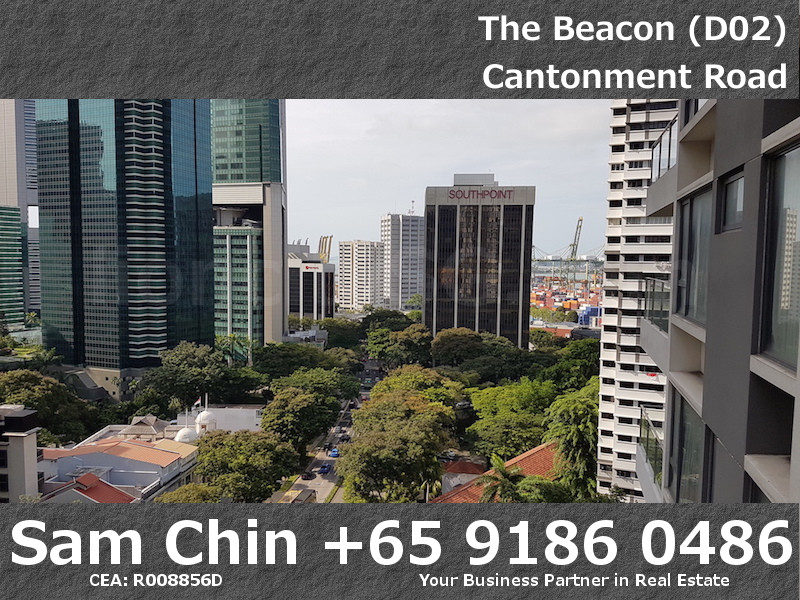 The Beacon – 2 Bedroom – Balcony – View – Southpoint