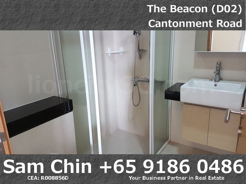 The Beacon – 2 Bedroom – Common Bathroom