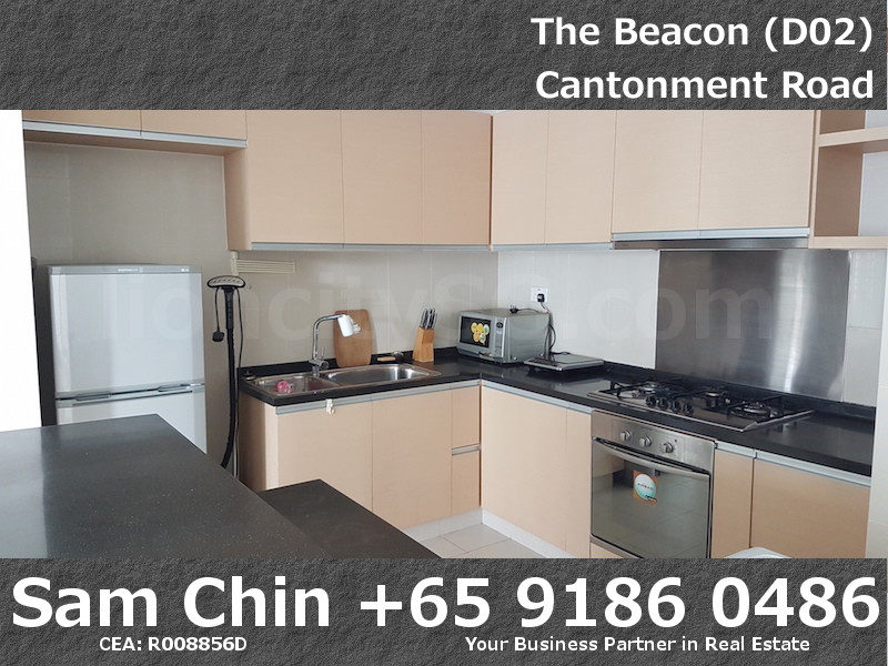 The Beacon – 2 Bedroom – Kitchen