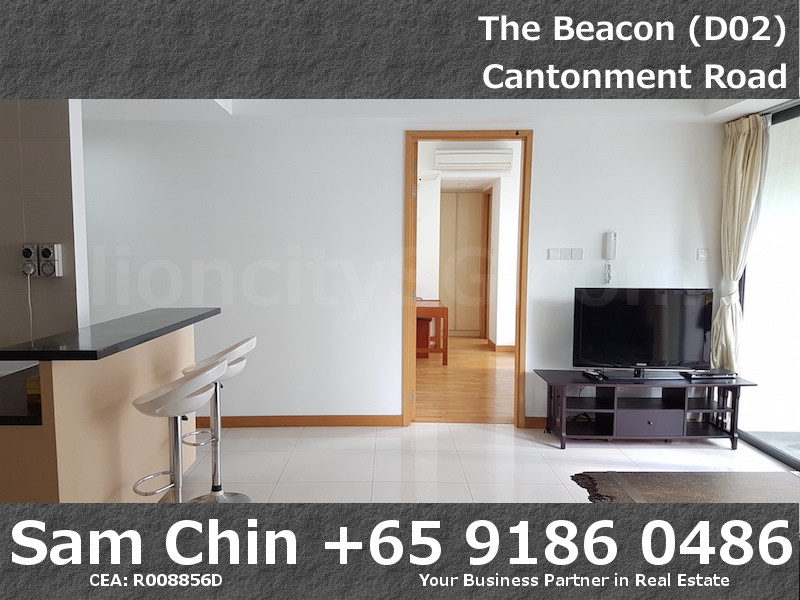 The Beacon – 2 Bedroom – Kitchen & Living