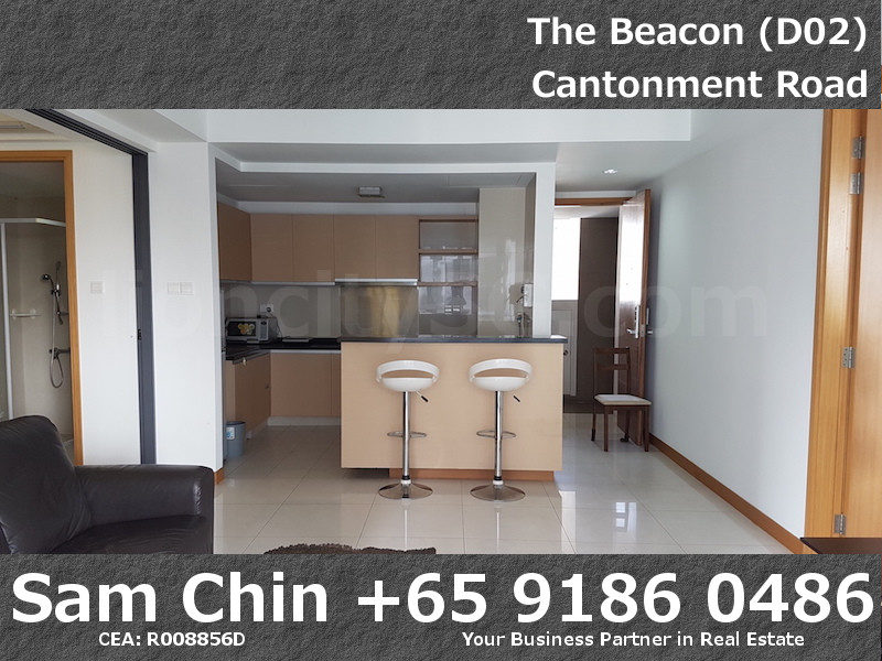 The Beacon – 2 Bedroom – Living & Kitchen – 2