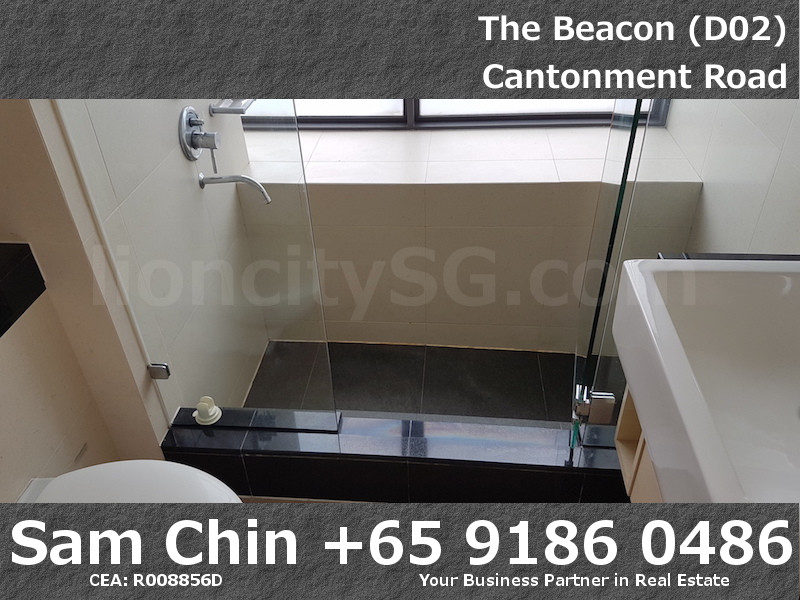 The Beacon – 2 Bedroom – Master Bathroom