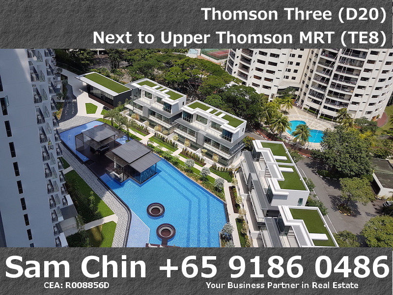 Thomson Three – 2 Bedroom – S07 – Balcony – View – Swimming Pool – 2