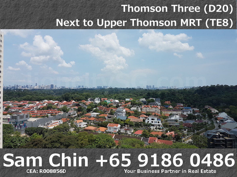 Thomson Three – 2 Bedroom – S07 – Common Room – View – Orchard