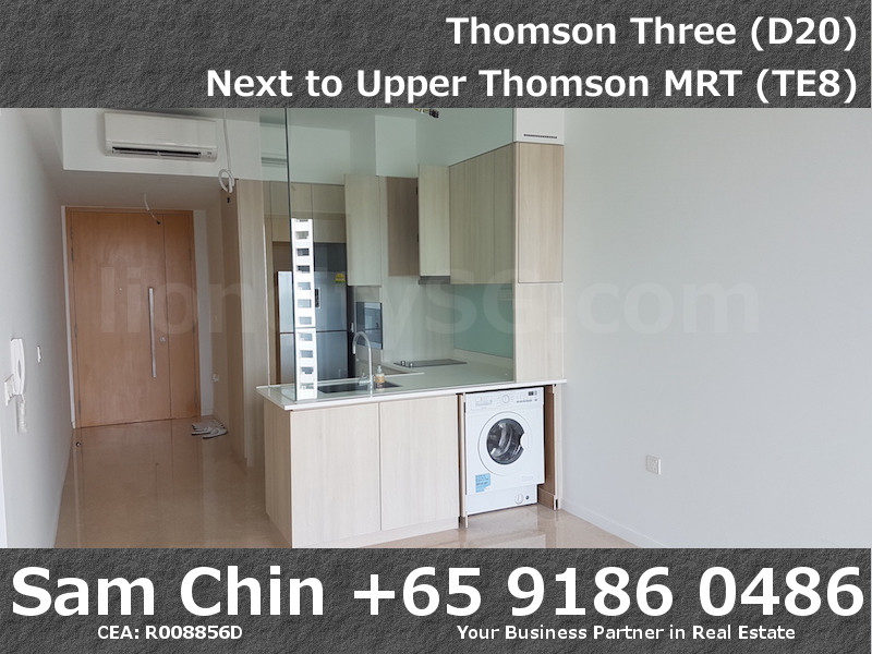 Thomson Three – 2 Bedroom – S07 – Kitchen – Washing Machine