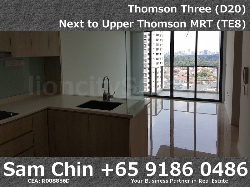 Thomson Three – 2 Bedroom – S07 – Kitchen and Living – 2
