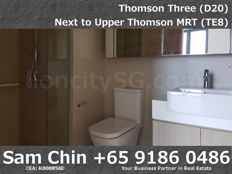 Thomson Three – 2 Bedroom – S07 – Master Bathroom