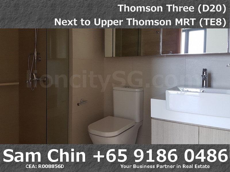 Thomson Three – 2 Bedroom – S07 – Master Bathroom
