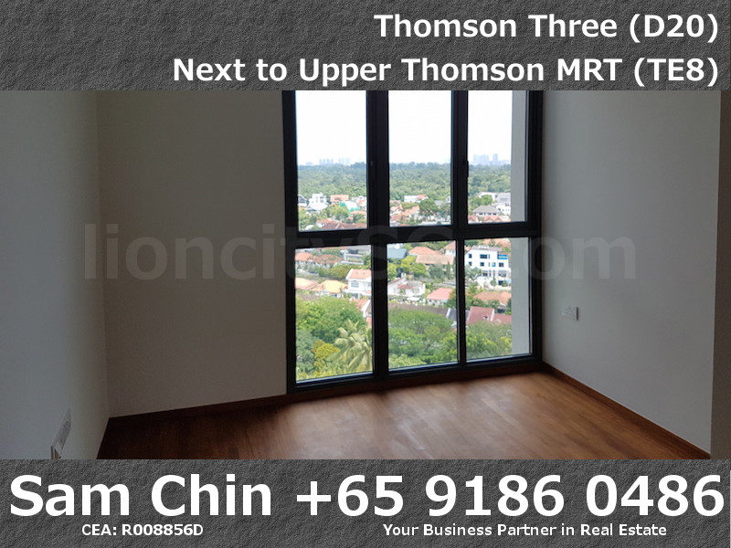 Thomson Three – 2 Bedroom – S07 – Master Bedroom – 1