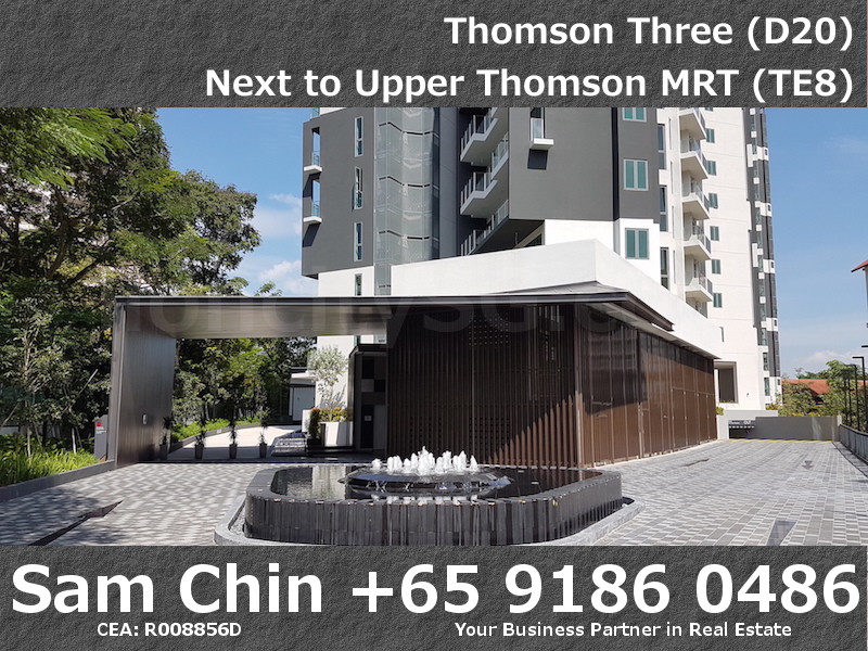 Thomson Three – Facilities – Main Entrance