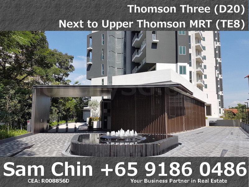 Thomson Three – Facilities – Main Entrance