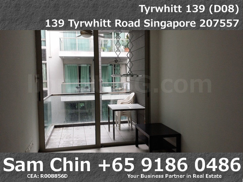 Tyrwhitt 139 – 1 Bedroom – S09 – Living and Balcony