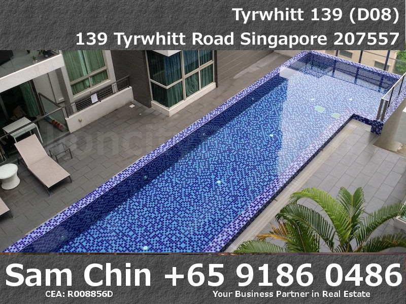 Tyrwhitt 139 – 1 Bedroom – S09 – View – Lap Pool