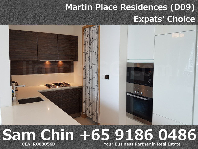 Martin Place Residences – 2 Bedroom – L – S08 – Kitchen