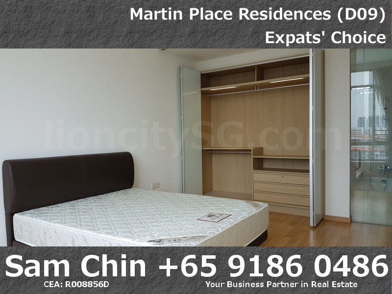 Martin Place Residences – 2 Bedroom – L – S08 – Master Bedroom – 2
