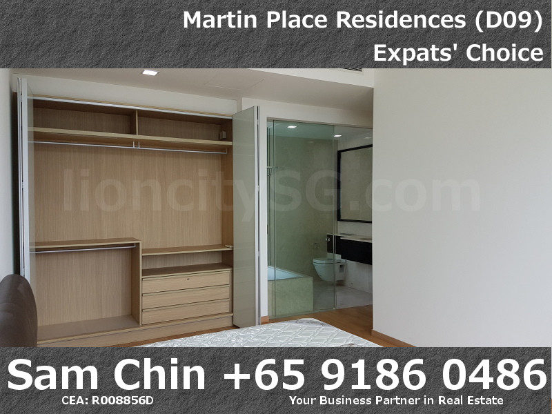 Martin Place Residences – 2 Bedroom – L – S08 – Master Bedroom – 3